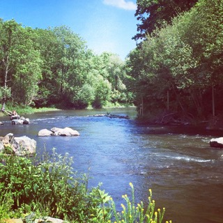 Calvados en famille, blog voyage en famille Val de Maizet