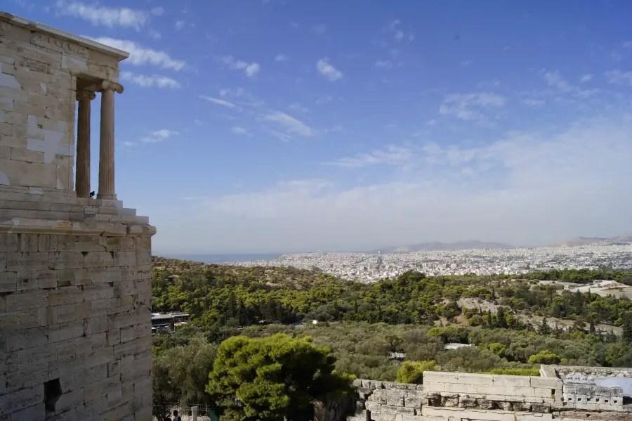 Road-trip en Grèce, voyage en famille, ou partir avec des enfants