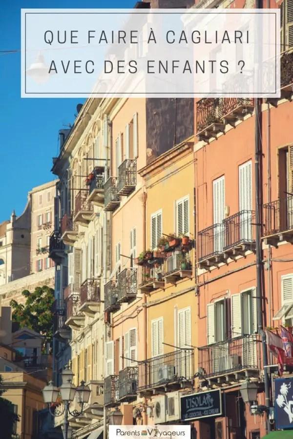 que faire à Cagliari en famille sardaigne