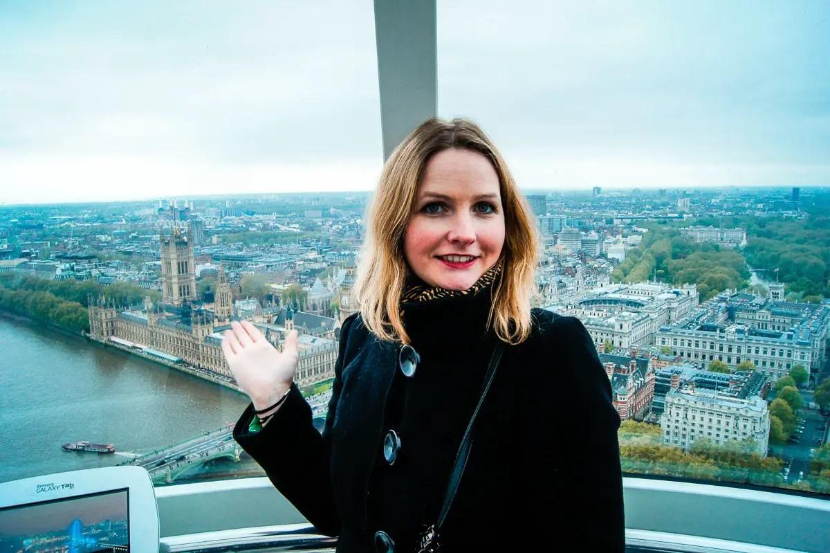 Visiter london Eye en famille