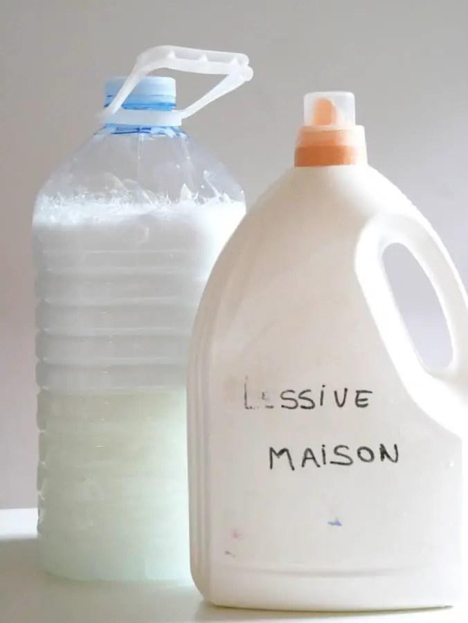 recette lessive maison thermomix où à la main