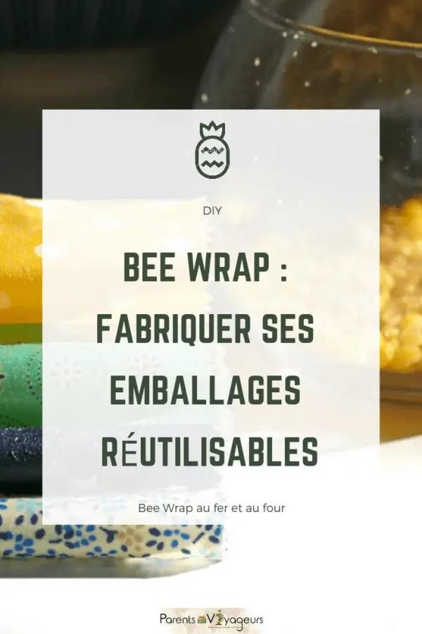 BEE WRAP : FABRIQUER SES EMBALLAGES RÉUTILISABLES