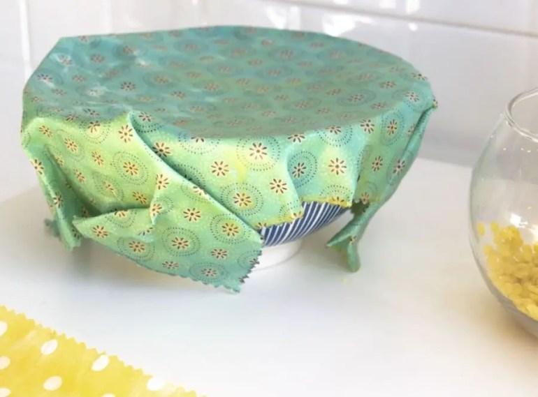fabriquer ses emballages réutilisables Bee Wrap