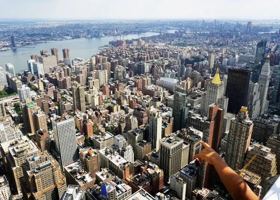 voyage a new york avec un enfant