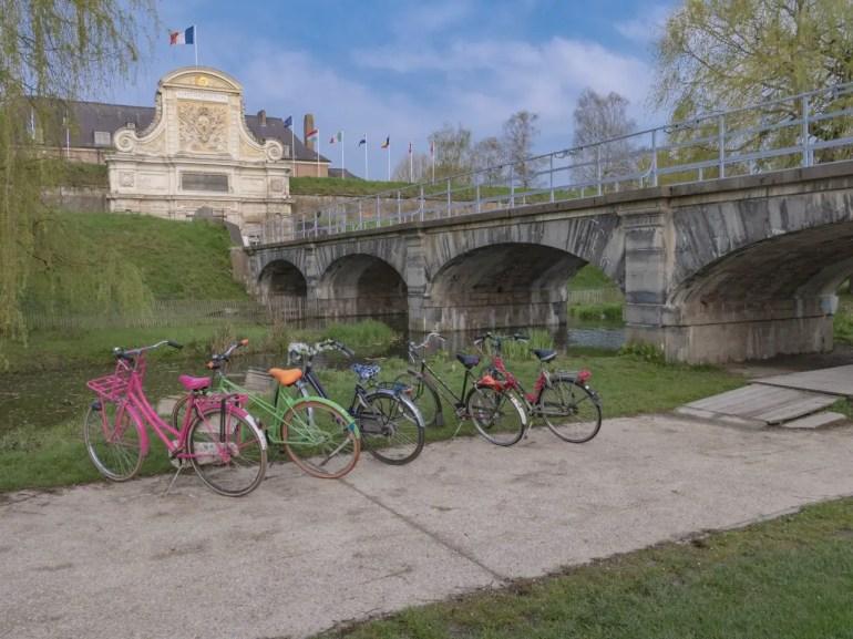 lille en famille louer des vélos hollandais