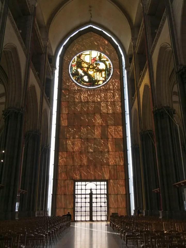 intérieur cathédrale notre dame de la treille