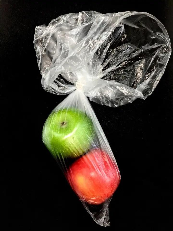 No plastic challenge fruit sous emballage plastique