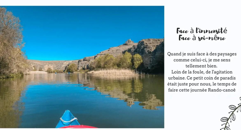 Que visiter autour e Ségovie : hoces rio Duratón