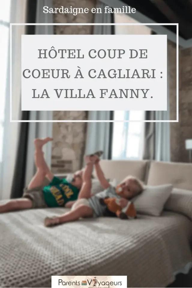 Hôtel coup de Coeur à Cagliari _ La villa Fanny.