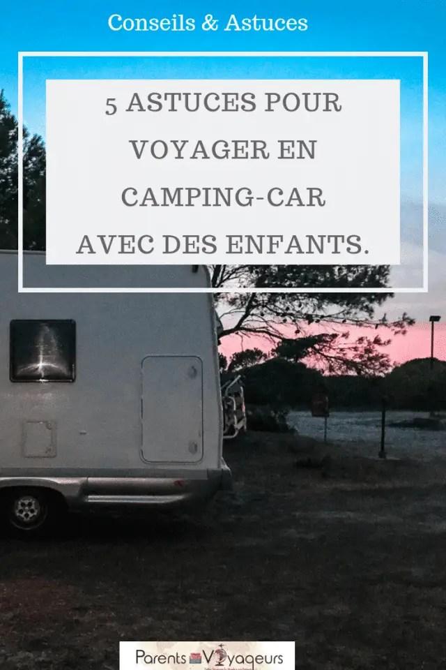 Voyager en camping-car avec des enfants