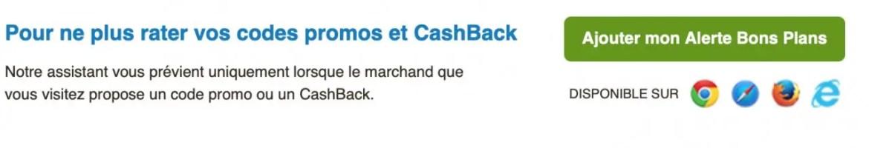 cashback Budget voyage