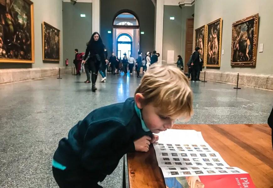 Visiter le musée du Prado avec des enfants  : comment les intéresser ? (+ Chasse aux trésors )