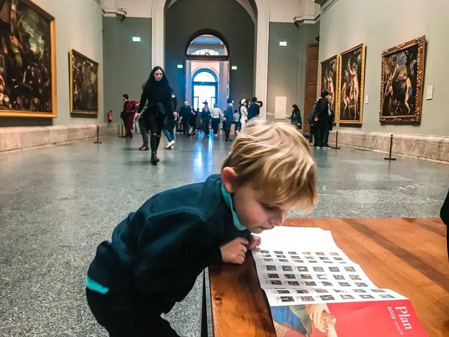 Visiter le musée du Prado à Madrid avec des enfants