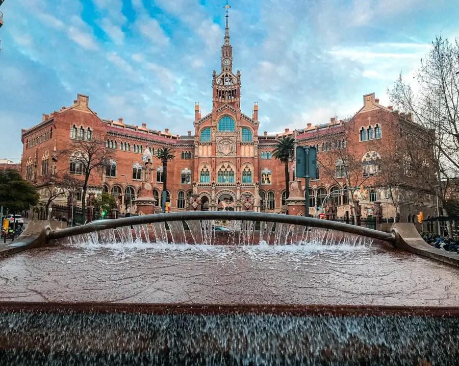 que faire à Barcelone en famille : hôpital saint pau