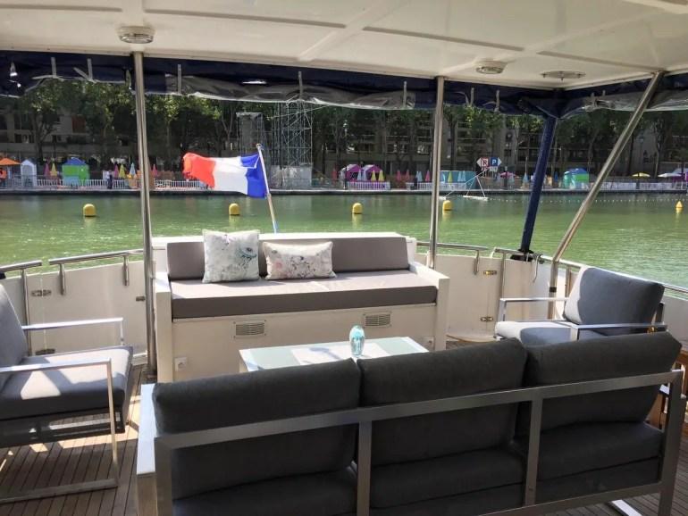 Dormir dans un bateau à Paris