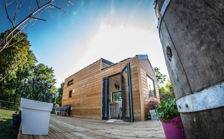 Tiny house ecolodge Amiens