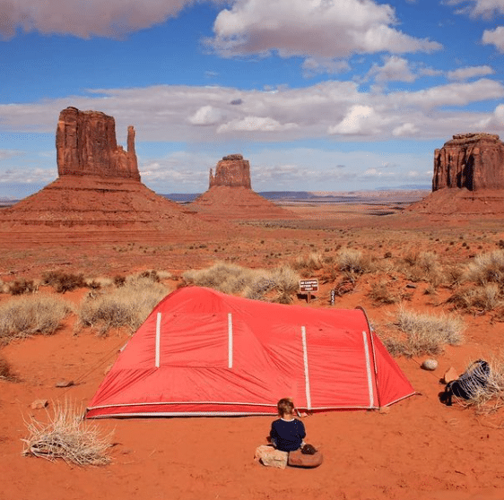 Voyage en famille papa - Monument Valley