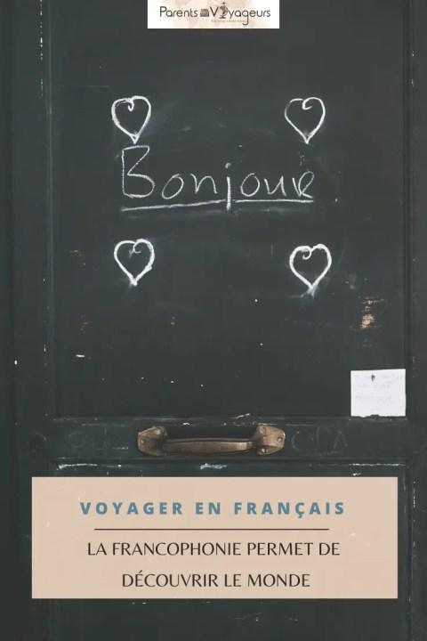 Voyager en français