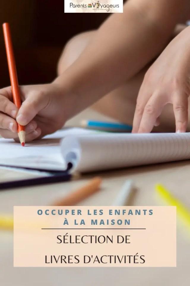 Occuper ses enfants pendant les vacances - Pinterest