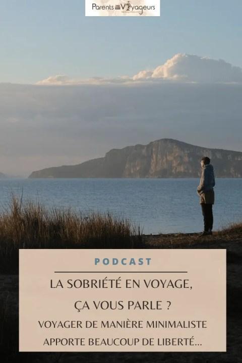 Sobriété en voyage - Pinterest