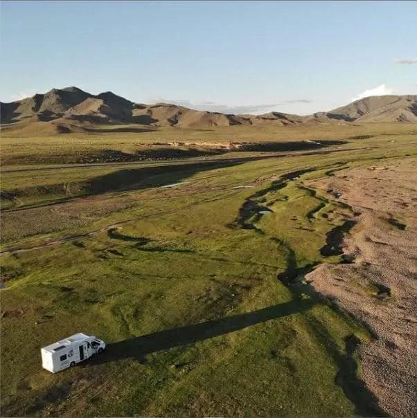 Tour du monde enfants - camping-car en Mongolie