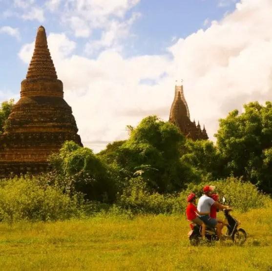 Voyage tour du monde enfants - Bagan