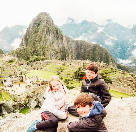 Voyage tour du monde enfants - Machu Picchu