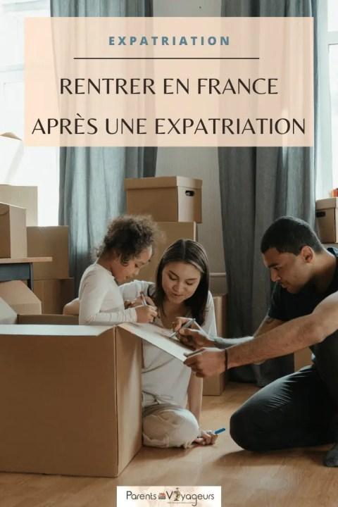 retour en France après une expatriation