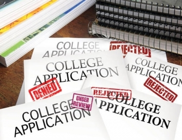 Image result for rejection college