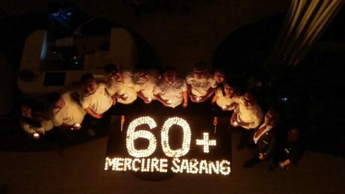 Mercure Jakarta Sabang Dukung Earth Hour 2018