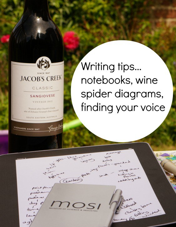 writing-tips-wine-notebooks-spider-diagrams-finding-your-voice