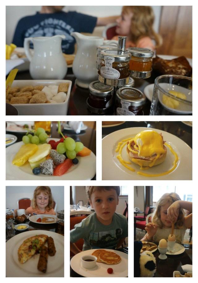 Cavendish Hotel, London, breakfast
