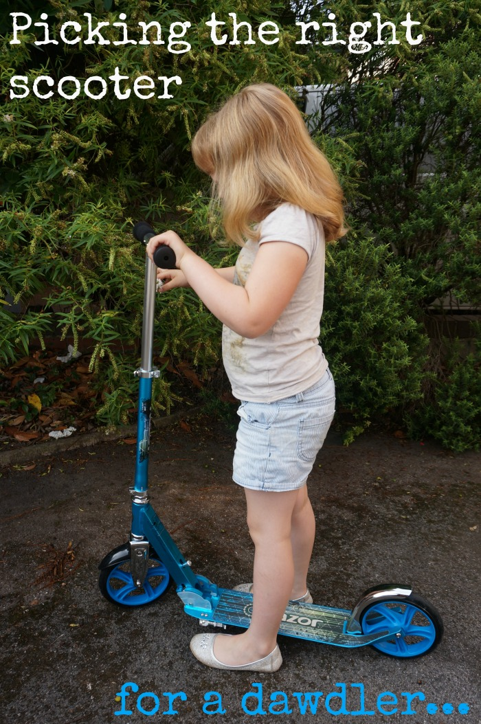 picking the right scooter