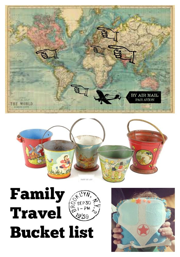 family travel bucket list