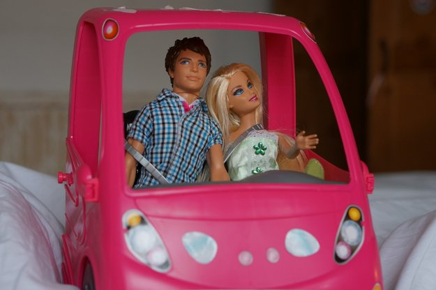 barbie camper van