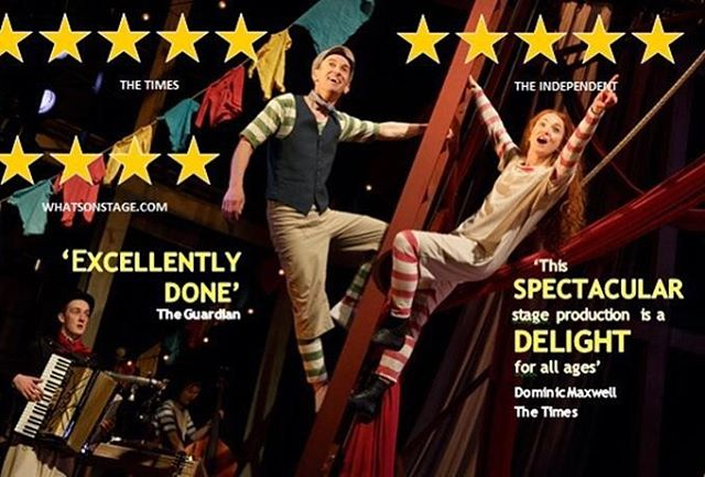 So excited to be going to see #HettyFeather @royalnottingham tonight, the reviews are amazing.  No #humpday this week.