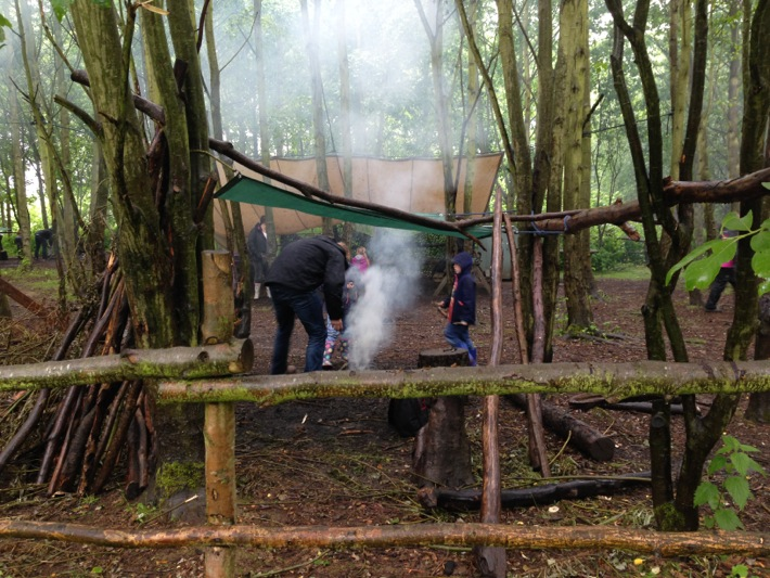 Conkers Centre, National Forest, Bushcraft and Barefoot Trail - 03