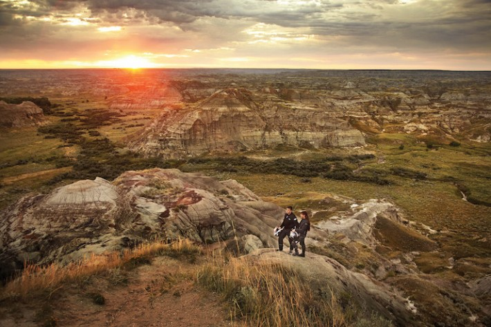 Horseshoe-Canyon-near-Drumheller-Alberta.-Image-courtesy-of-Visit-Alberta