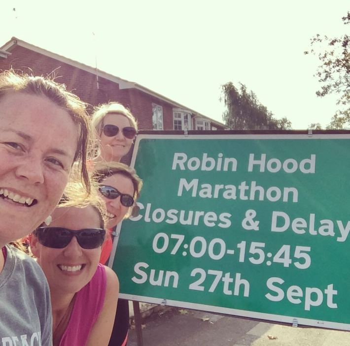 robin hood nottingham half marathon
