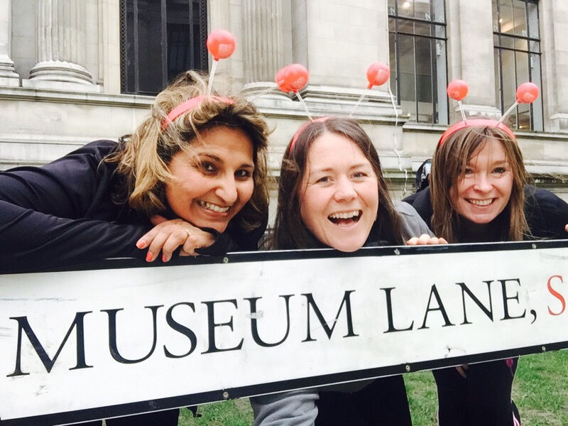 london museum dash for sport relief