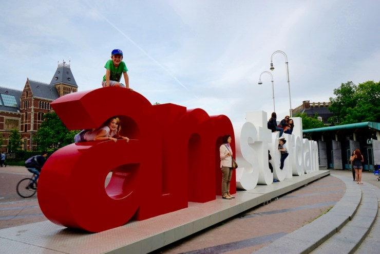 Finding Amsterdam with KLM, a treasure hunt taking in the best of family friendly Amsterdam- Museumplein, Vondelspark, a Canal boat trip - 27