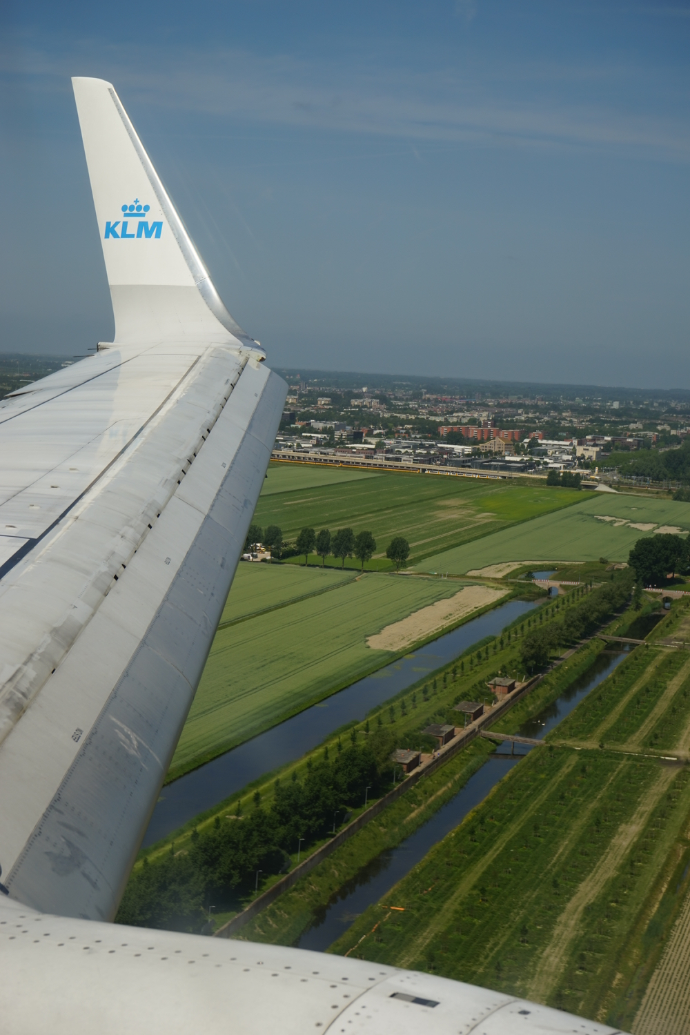 Flying to Amsterdam as a family with KLM