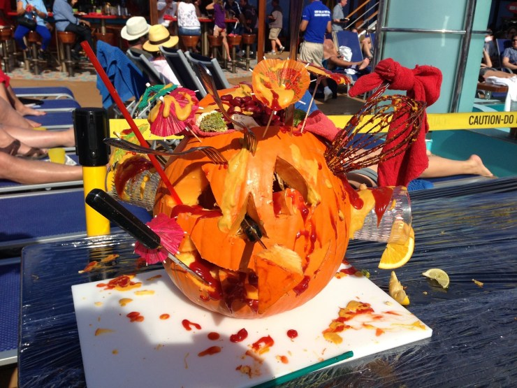 Halloween Cruise - spending Halloween on Carnival Cruise Line's Carnival Sunshine