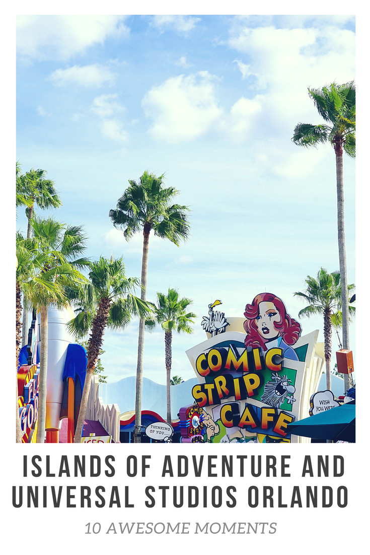 Awesome moments you might experience at Universal Studios and Islands of Adventure, Orlando