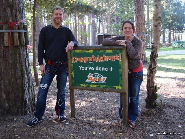 Go Ape in Sherwood Pines, Nottingham