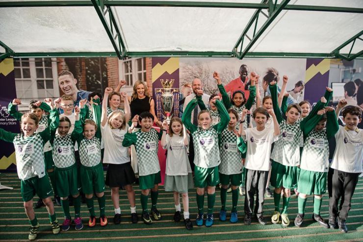 Primary Stars Launch Event at St John's Highbury Vale Primary with Gaby Roslin