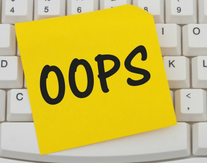 #PIB08 How to recover from a business mistake