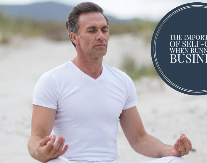 #PIB15 The importance of self-care when running a business
