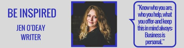 Interview Jen Odeay writer