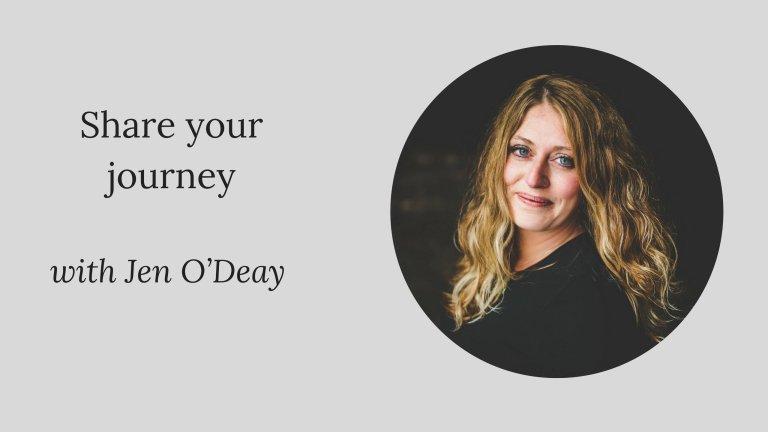 #PIB53 Share your journey: Jen O'Deay